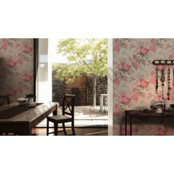 На фото Интерьер обоев Paradise Flower 341483 AS Creation