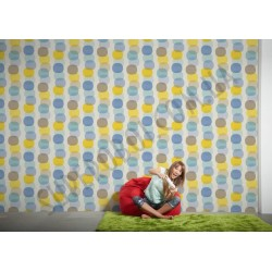 На фото Интерьер обоев Pop Colors 355901 AS Creation