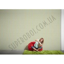На фото Интерьер обоев Pop Colors 355983 AS Creation