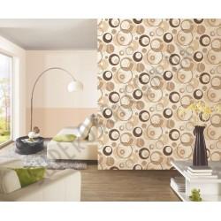 На фото Интерьер обоев Confetti 03966-10,03841-30,03968-20 P+S