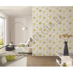 На фото Интерьер обоев Confetti 03963-10,03819-10 P+S