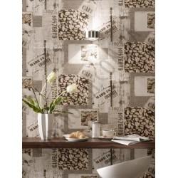 На фото Интерьер обоев Tiles & More 831818 Rasch