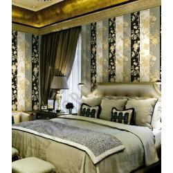 На фото Интерьер обоев Roberto Cavalli 12013 Decori & Decori