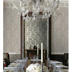 На фото Интерьер обоев Roberto Cavalli 12026,12027 Decori & Decori