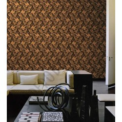 На фото Интерьер обоев Roberto Cavalli 12056 Decori & Decori