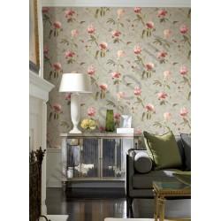 На фото Интерьер обоев Painted Garden GN2425 York