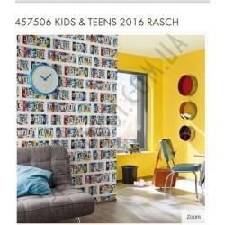 На фото Интерьер обоев Kids & Teens 2016 457506 Rasch