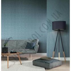 На фото Интерьер обоев Indigo 226286 Rasch Textile