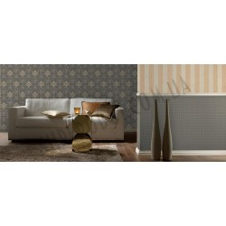 На фото Интерьер обоев Solitaire 073491 Rasch Textile
