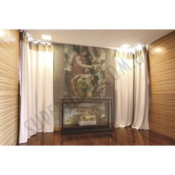 На фото Интерьер обоев Murogro Sculture 17391 Sirpi