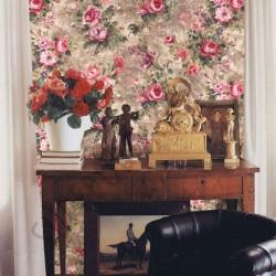На фото Интерьер обоев Violetta 37102 Limonta