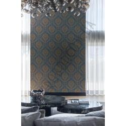 На фото Интерьер обоев Villa Borghese 3104 VB Grandeco