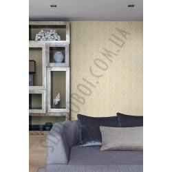 На фото Интерьер обоев Villa Borghese 3308 VB Grandeco
