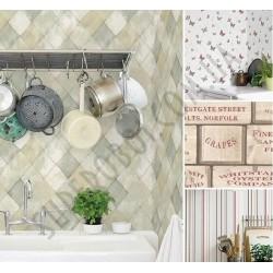 На фото Интерьер обоев Kitchen Recipes G12258 Galerie
