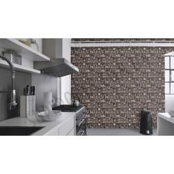 На фото Интерьер обоев Tiles & More 858716 Rasch