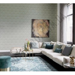 На фото Интерьер обоев Da Capo 085777 Rasch Textile