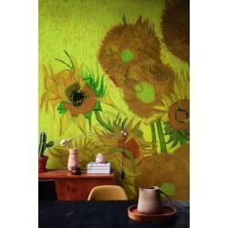 На фото Интерьер обоев Van Gogh 2  BN International