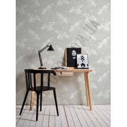 На фото Интерьер обоев Linen Style 36631-1 AS Creation
