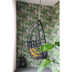 На фото Интерьер обоев Club Botanique 538953 Rasch