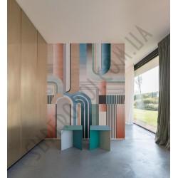 На фото Интерьер обоев Plains&Murals PM6602 Grandeco