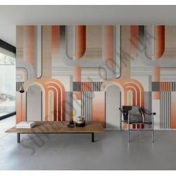 На фото Интерьер обоев Plains&Murals PM6601 Grandeco