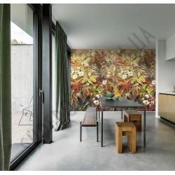 На фото Интерьер обоев Plains&Murals PM6101 Grandeco