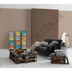 На фото Интерьер обоев Die glatte Wand 309167 AS Creation
