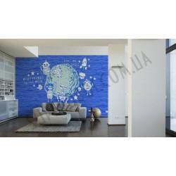 На фото Интерьер обоев Oilily Home 961586 AS Creation