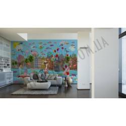 На фото Интерьер обоев Oilily Home 961581 AS Creation
