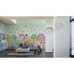 На фото Интерьер обоев Oilily Home 961582 AS Creation